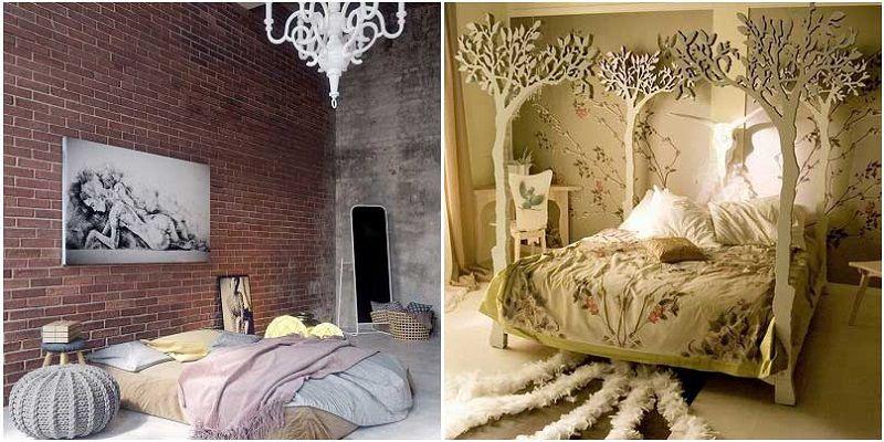 Спальни в эко-стиле