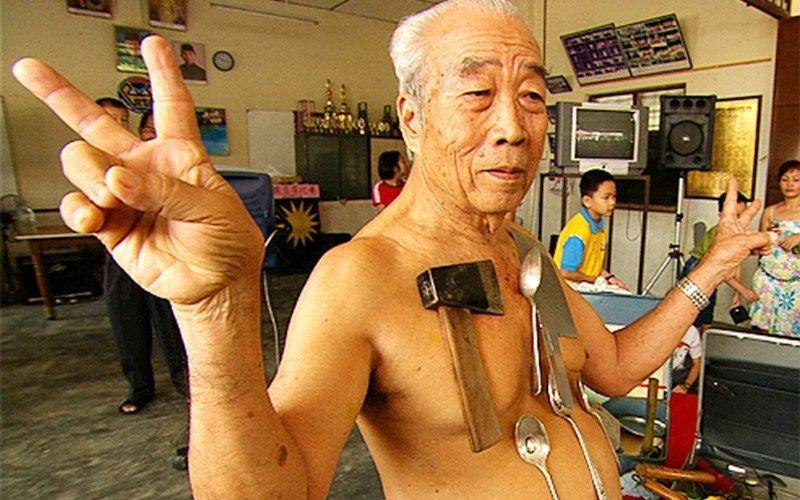 Человек-магнит - Лью Тоу Лин