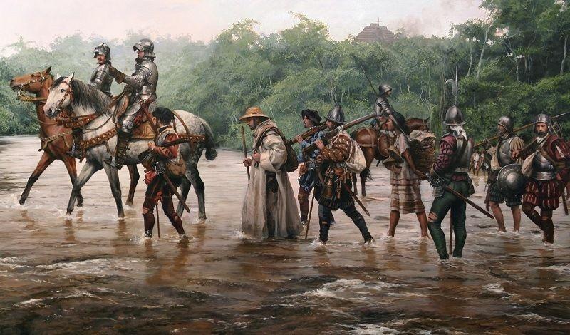 Самураи против конкистадоров