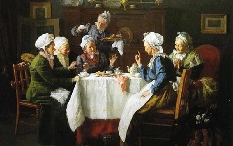 Чай в Европе
