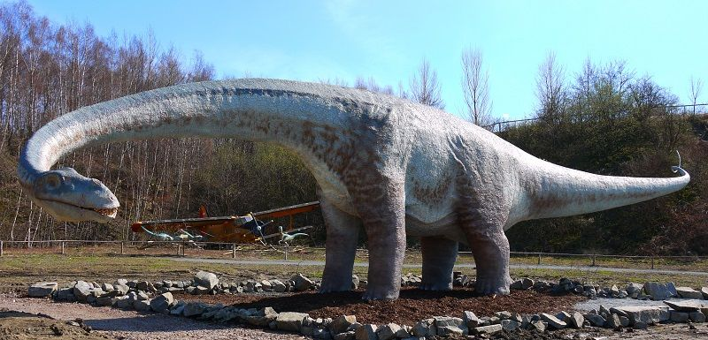 Травоядный сейсмозавр