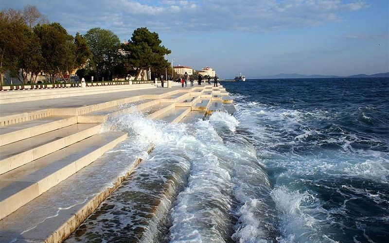 «Морской орган» в городе Задаре