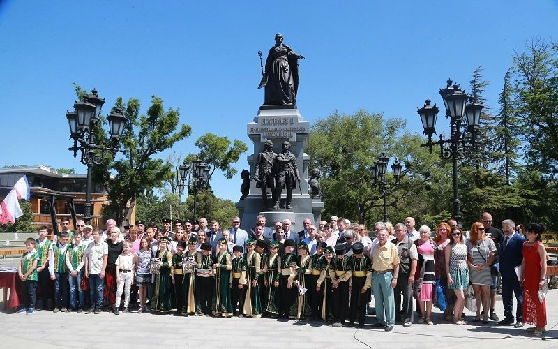 Памятник Екатерине II (Крым)