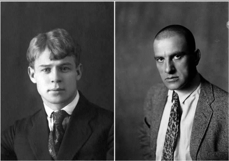С.Есенин, В.Маяковский