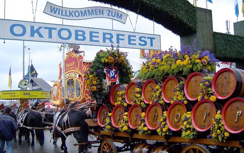 Праздник в Германии Октоберфест