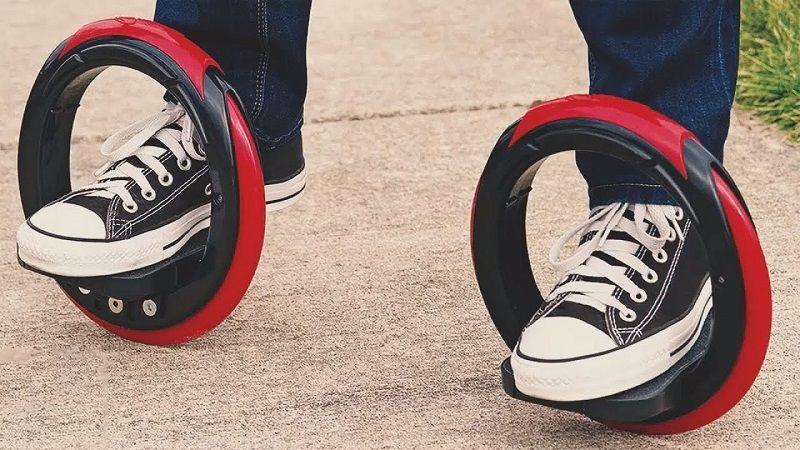 Двойной круглый скейт
