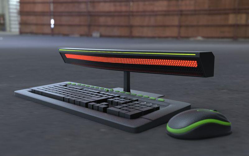 Клавиатура с обогревателем