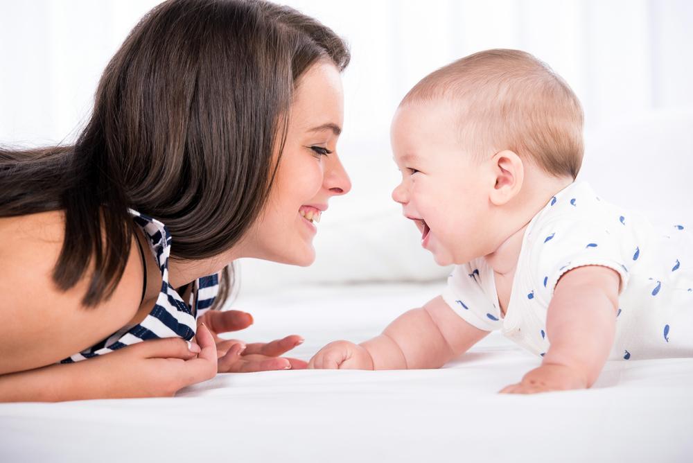 мама и ее ребенок