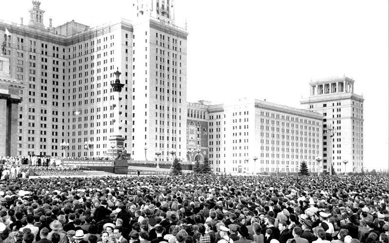Торжественное открытие комплекса корпусов Московского государственного университета