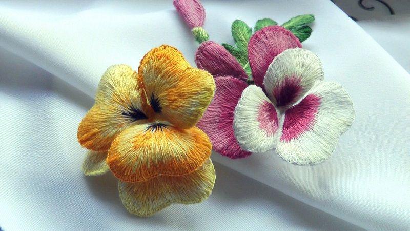 Объёмные цветы Хелен Пирс
