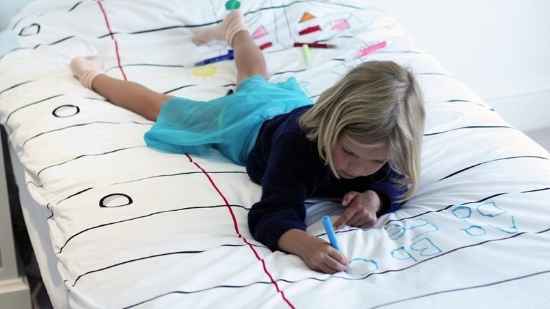 Bed linen (markers)