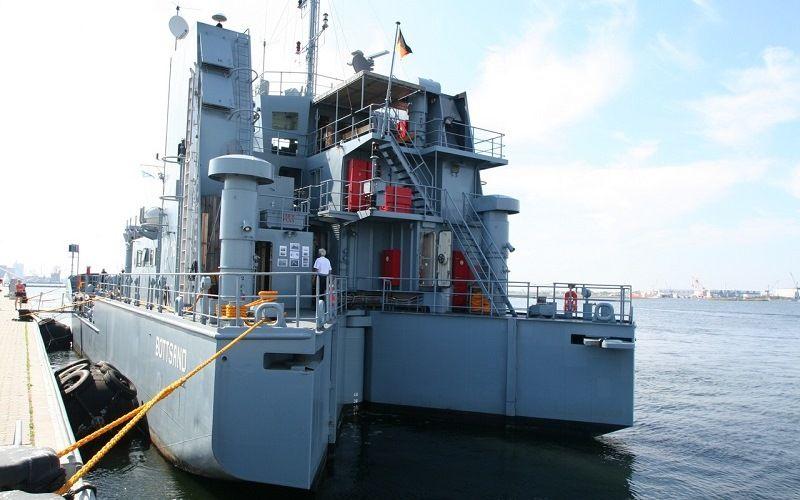 Корабль для очистки морских вод от нефти Bottsand (Тип 738)