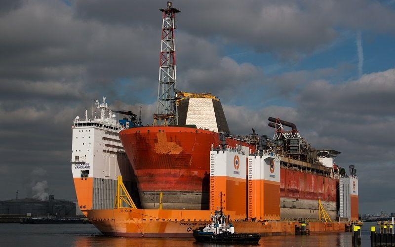 Dockwise Vanguard - перевозка грузов