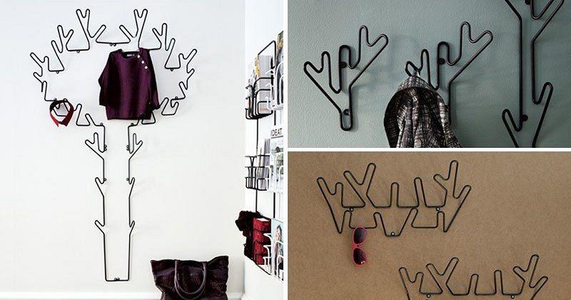 Металлические вешалки от дизайнера Луизы Хедерстрём