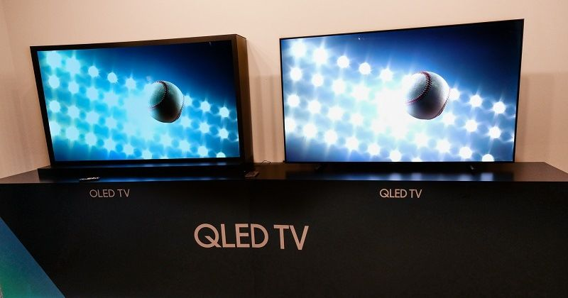 Мониторы OLED и QLED