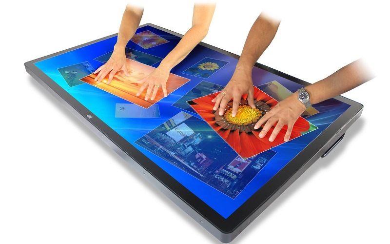 Технологии «мультитач»: проекционно-емкостный метод