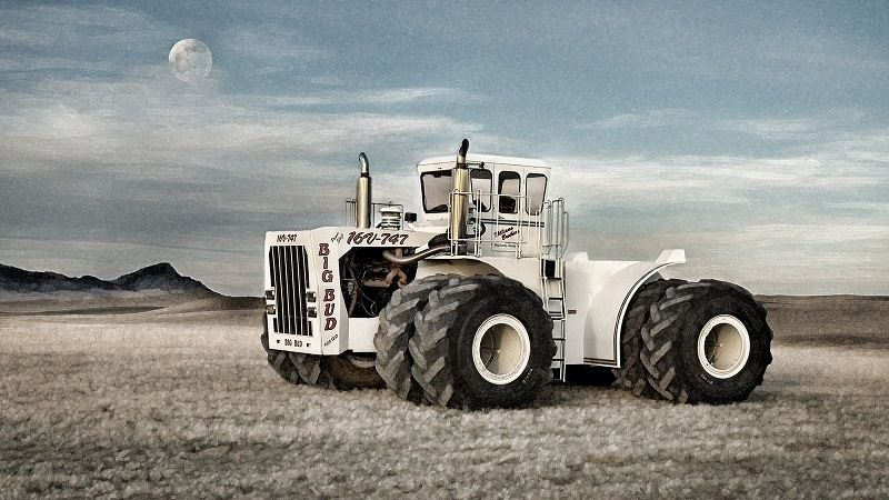 Трактор Big Bud 747