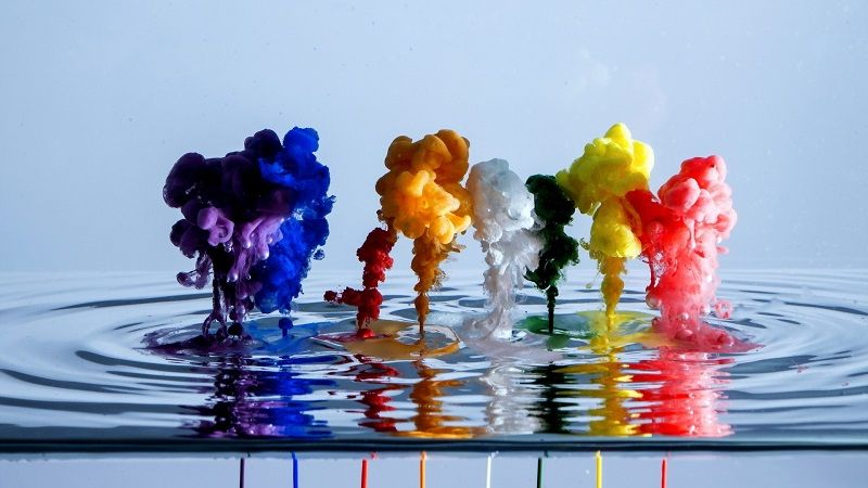 Интересное о красках