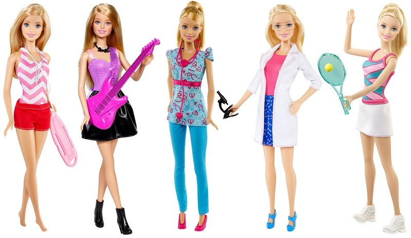 Первые куклы Барби