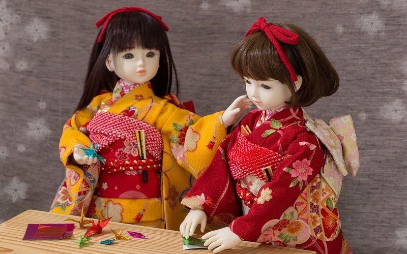 Японские куклы Ичимацу