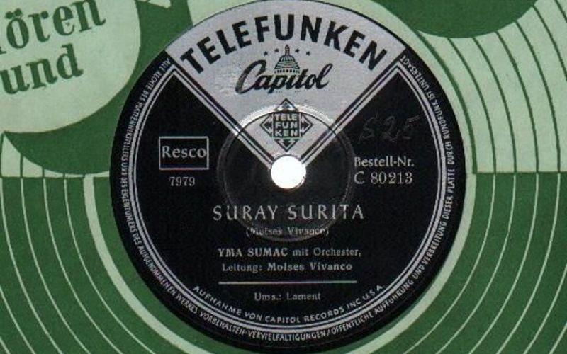 Первая пластинка Имы Сумак