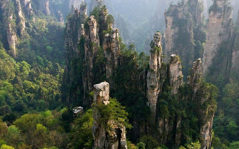 Парк Чжанцзяцзе