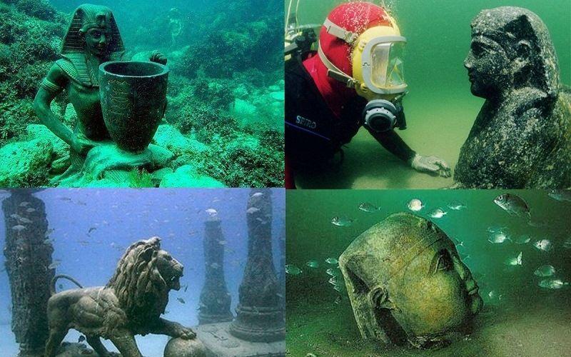 Подводный дворец Клеопатры