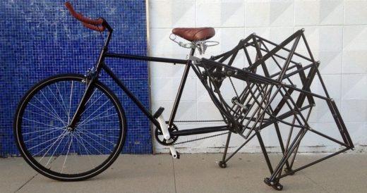 Необычные колеса у велосипеда