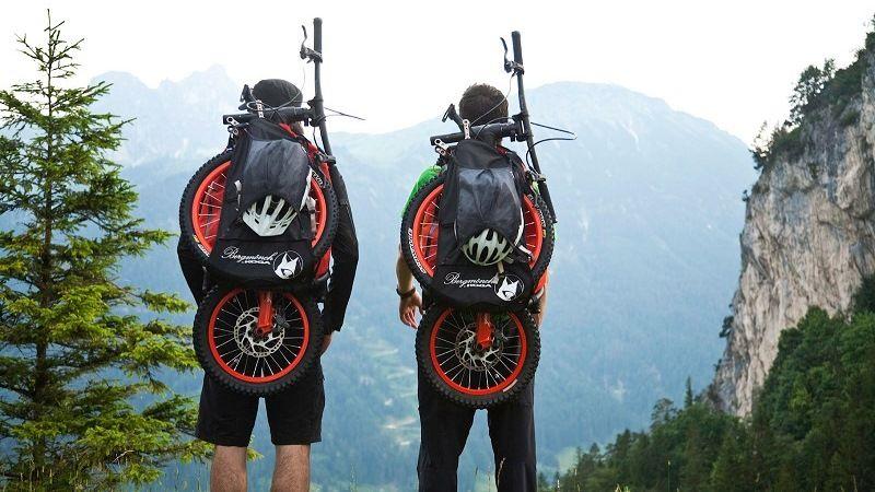 Рюкзак-велосипед от немецкой компании Bergmönch