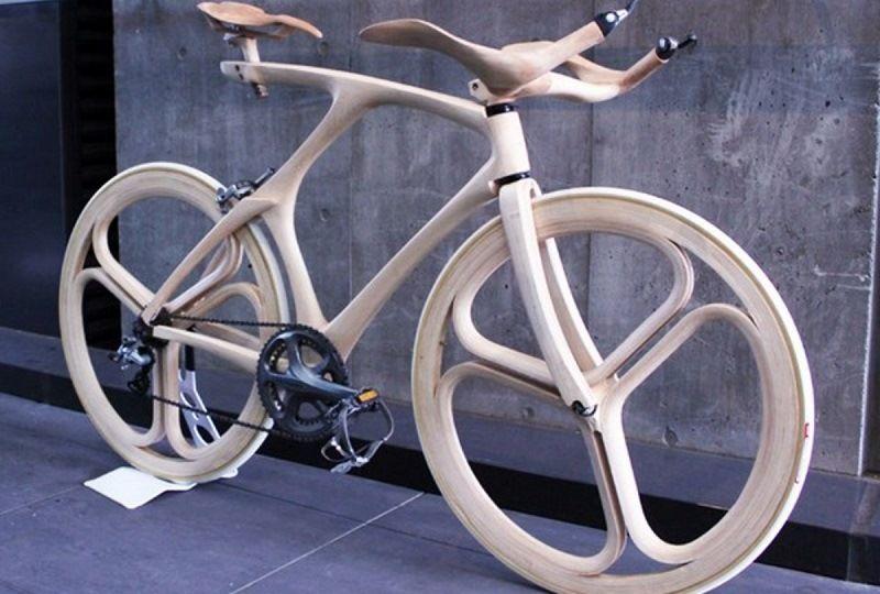 Деревянный велосипед Oshima