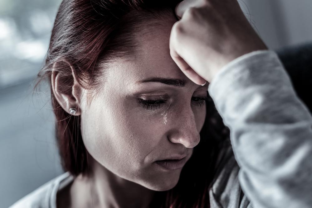 женщина в отчаянии