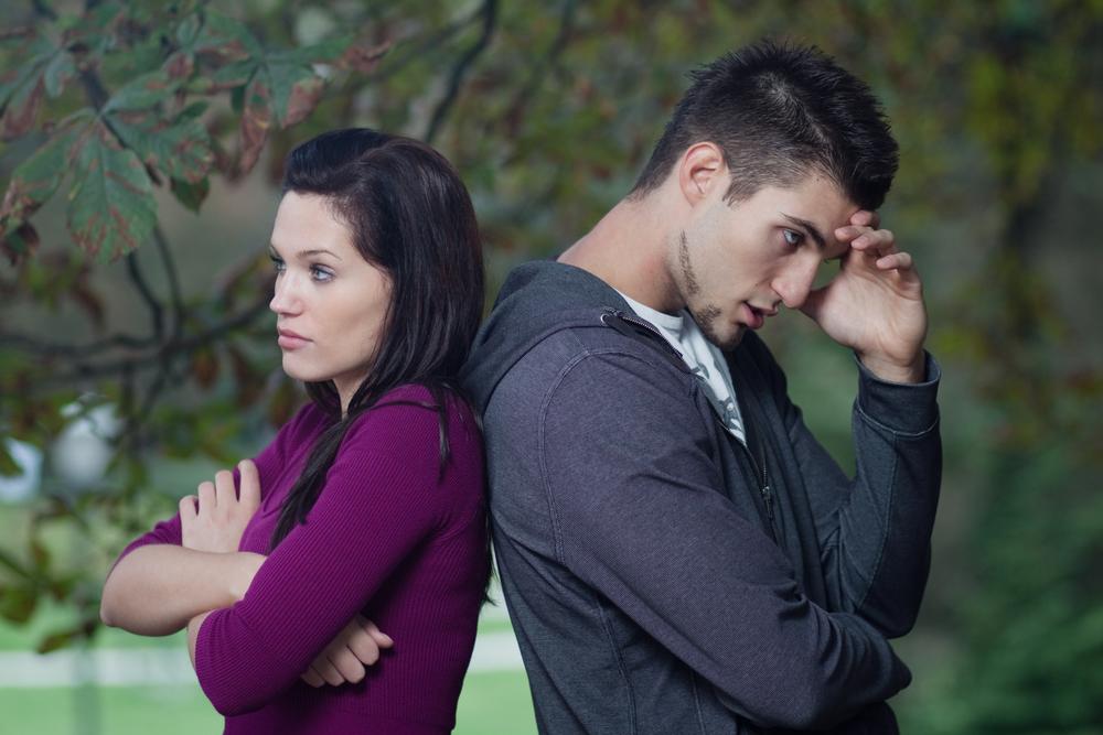 проблемы в личных отношениях