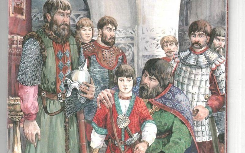 Детские годы Александра Невского