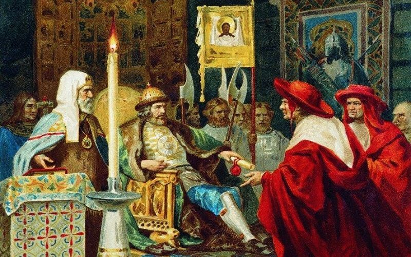 Alexander Nevsky: the negotiations with Pope innocent IV