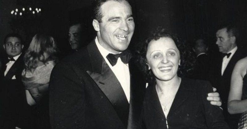 Эдит Пиаф и Марсель Сердан