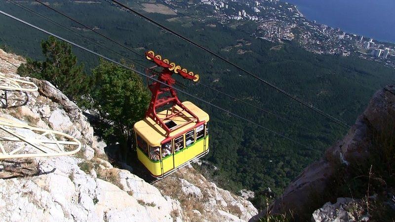 Гора Ай-Петри, канатная дорога