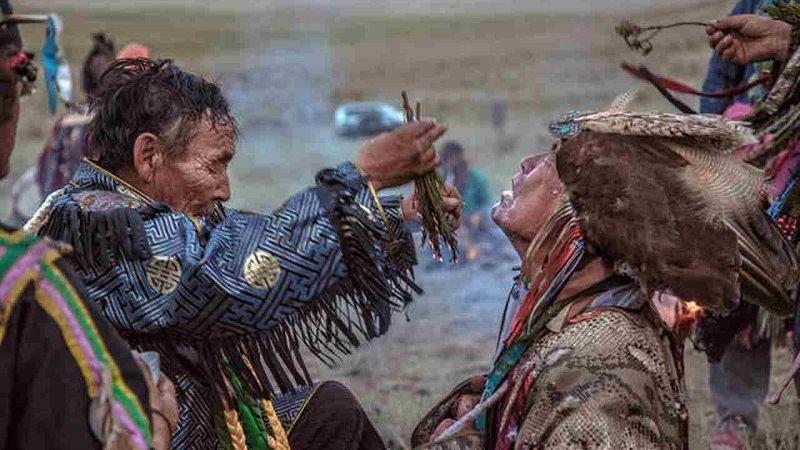 Эвенки - шаман