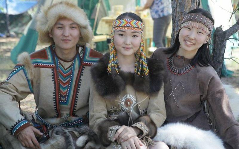 Молодая семья эвенокв