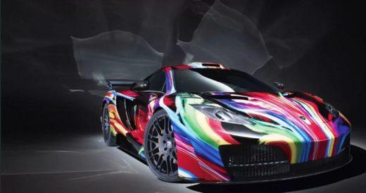 Необычные цвета машин