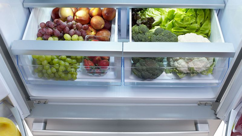 Refrigerators with naturecool technology