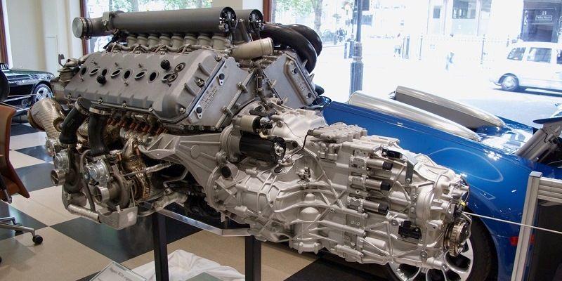 Bugatti Veyron W-16