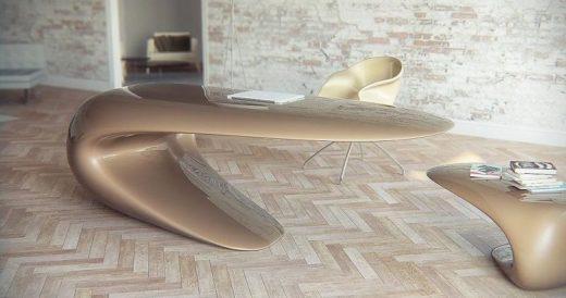 Столы необычной формы