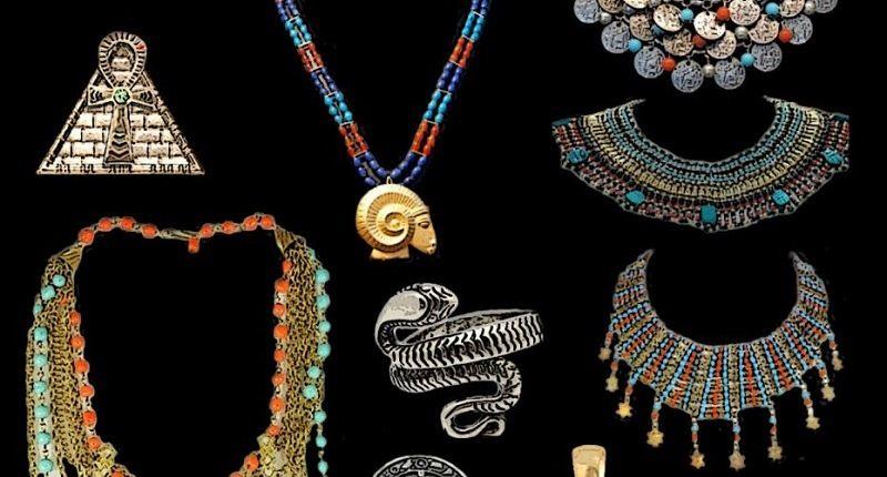Египетские украшения из бисера