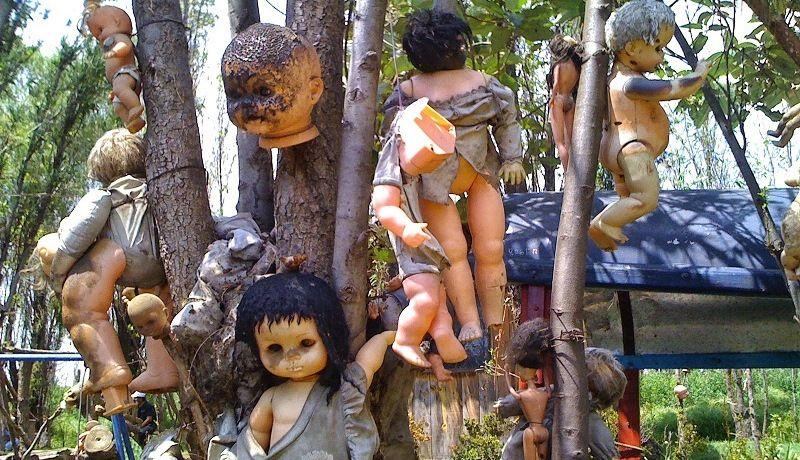 Isla de las Muñecas - остров брошенных кукол