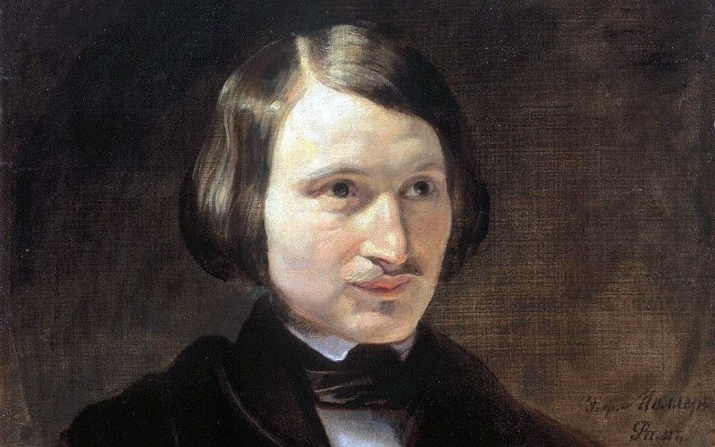 portrait of Gogol