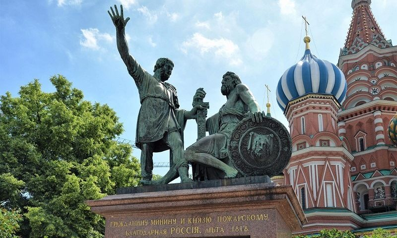 Monument to Pozharsky and Minin