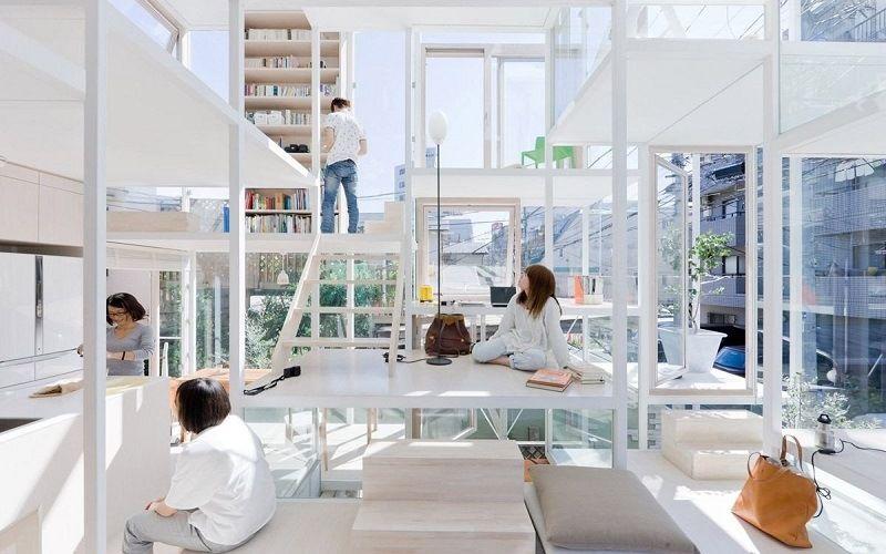 Glass home With Fujimoto