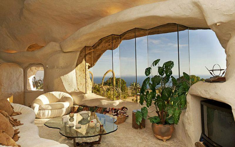 The cave of the Flintstones in Malibu