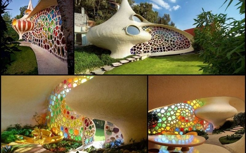 The Nautilus house in Mexico city