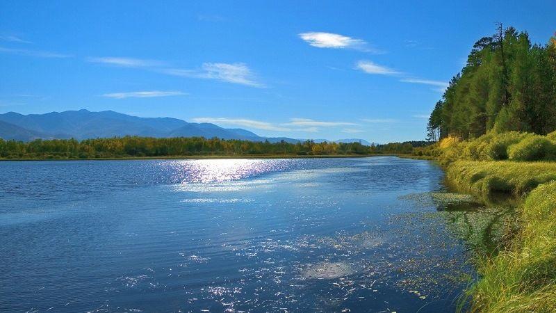 Самые широкие реки в мире, в России